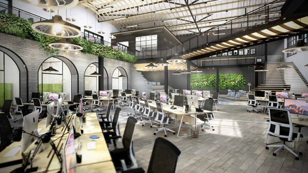 Thiết kế văn phòng theo 5s chuẩn phong cách Nhật Bản