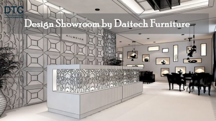 Dịch vụ thiết kế thi công nội thất Showroom chuyên nghiệp