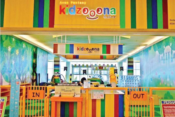 Thiết kế – thi công nội thất khu vui chơi Kidzoona aeon fantasy