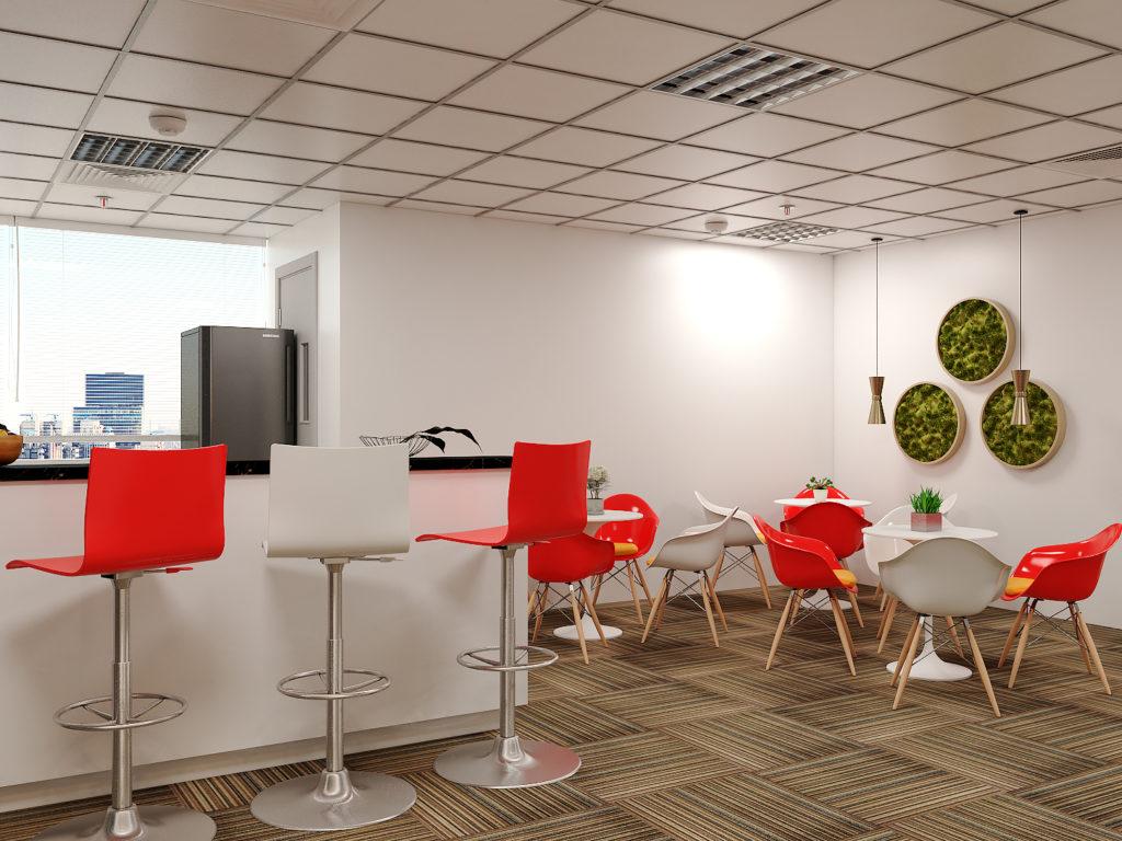 Sử dụng nội thất thông minh cho văn phòng diện tích nhỏ