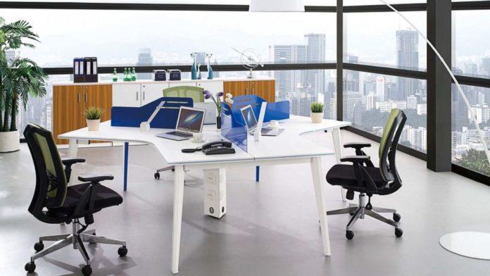 Mẫu bàn làm việc văn phòng đẹp nhất hiện nay