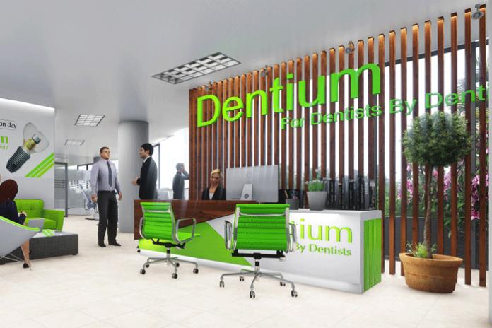 Thiết kế – thi công nội thất phòng khám Dentium Hàn Quốc