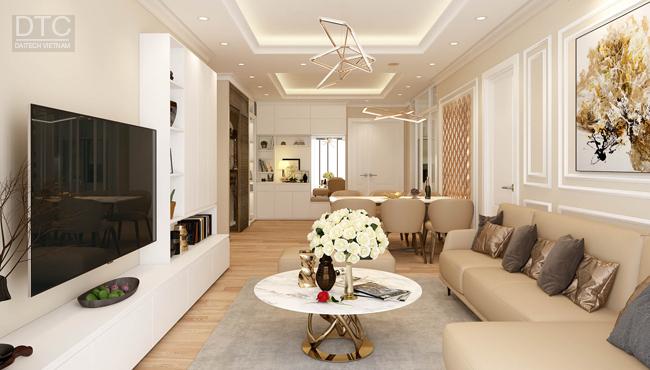 Tư vấn thiết kế căn hộ 50m²